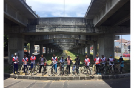 Santri PPPM Baitul Makmur Berpartisipasi dalam Gowes LDII Jawa Timur 2019